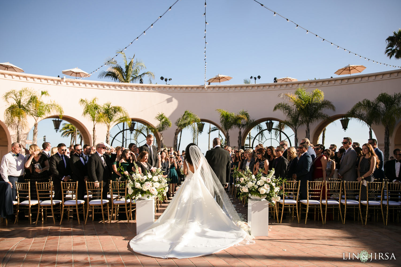 01 Wedding Ceremony Hilton Santa Barbara Beachfront Resort Wedding