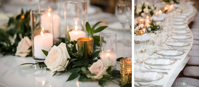 Reception Details Hilton Santa Barbara Beachfront Resort Wedding