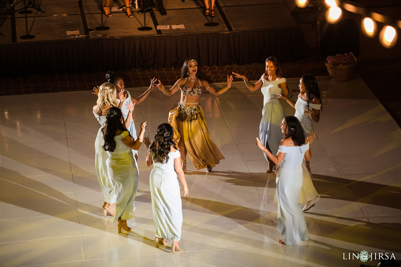 Persian Dancers Hilton Santa Barbara Beachfront Resort Wedding 02