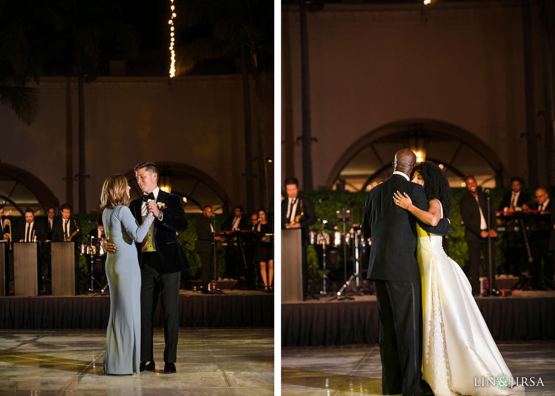 Parent Dances Hilton Santa Barbara Beachfront Resort Wedding