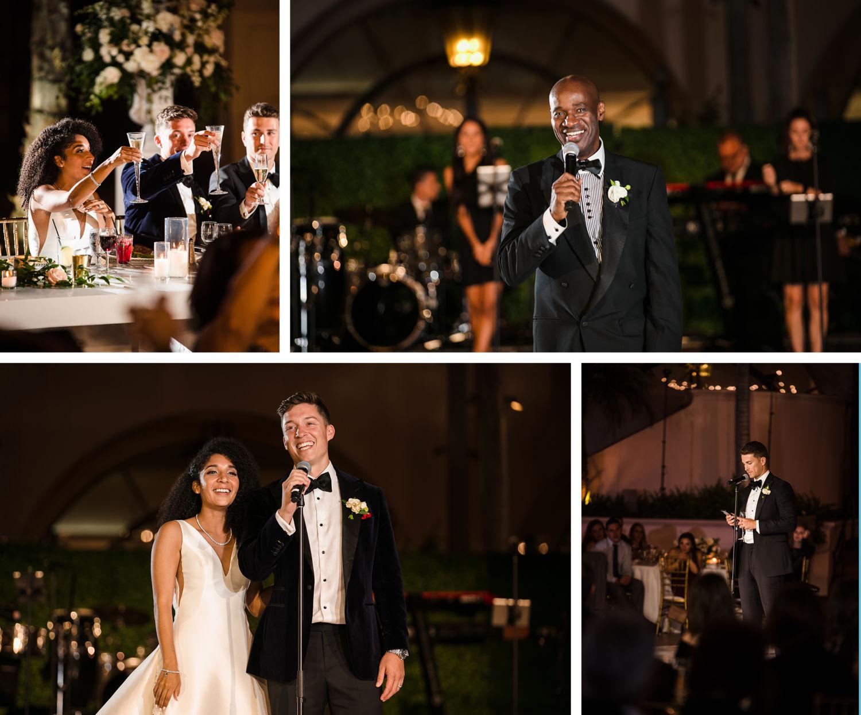 Wedding Toats Hilton Santa Barbara Beachfront Resort Wedding 1
