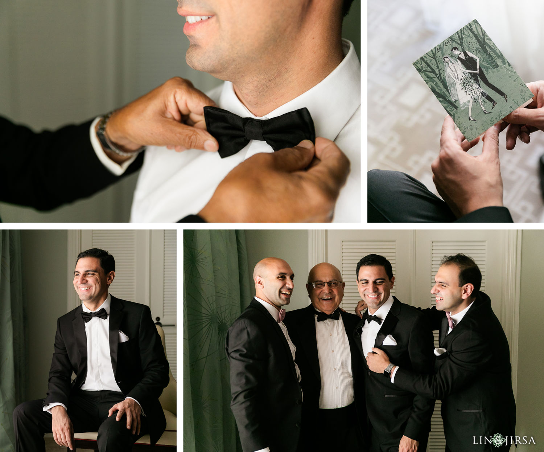 Groom Prep Beverly Hills Hotel Lebanese Wedding 02