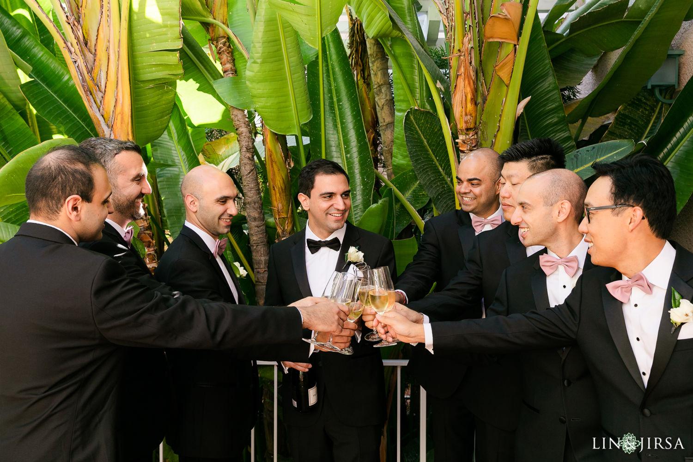 Groom Prep Beverly Hills Hotel Lebanese Wedding 03