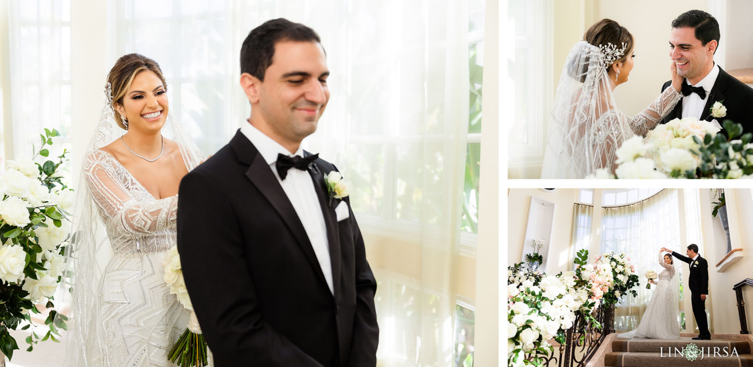 First Look Beverly Hills Hotel Lebanese Wedding