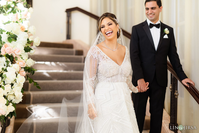 First Look Beverly Hills Hotel Lebanese Wedding 02