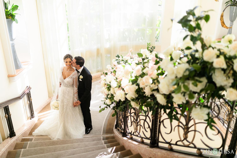 First Look Beverly Hills Hotel Lebanese Wedding 03