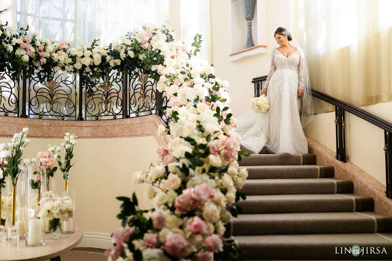 Bride Portraits Beverly Hills Hotel Lebanese Wedding 02