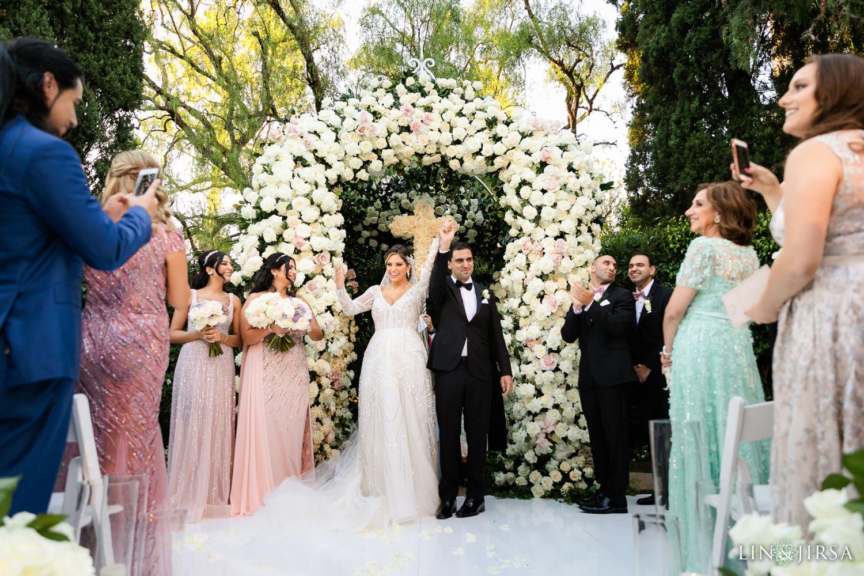 Wedding Ceremony Beverly Hills Hotel Lebanese Wedding 06