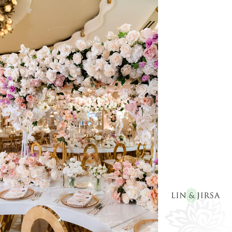 Wedding Reception Beverly Hills Hotel Lebanese Wedding 03