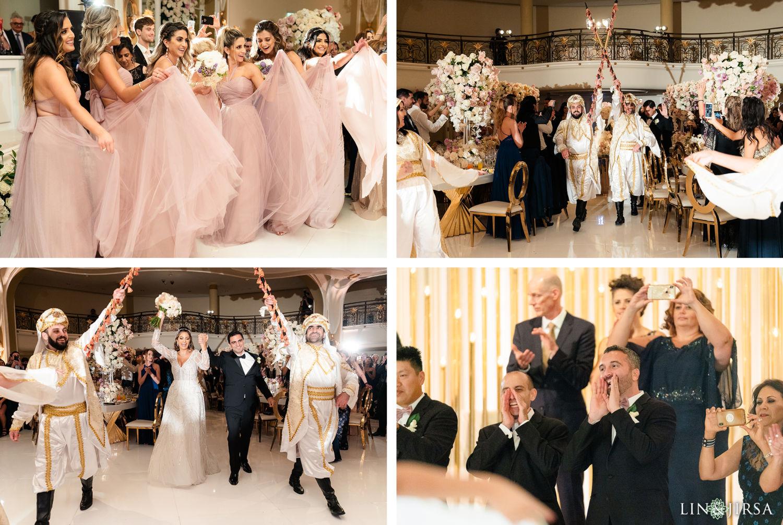 Wedding Reception Beverly Hills Hotel Lebanese Wedding 04
