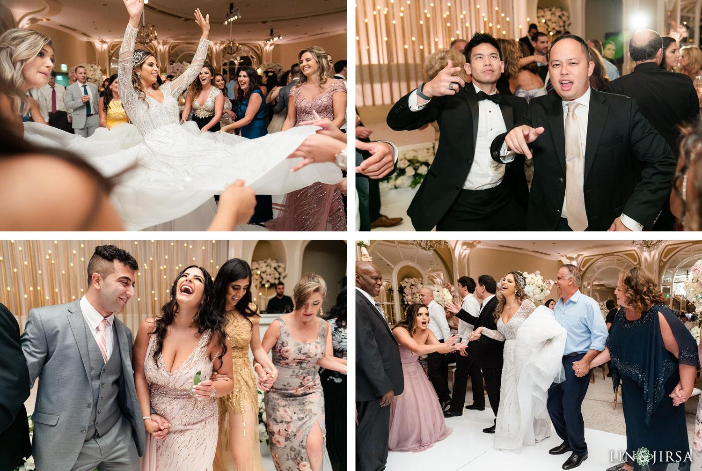 Wedding Reception Beverly Hills Hotel Lebanese Wedding Dancing
