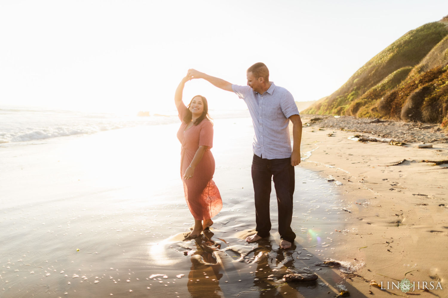0057 AJ Crystal Cove State Park Orange County Engagement Photography