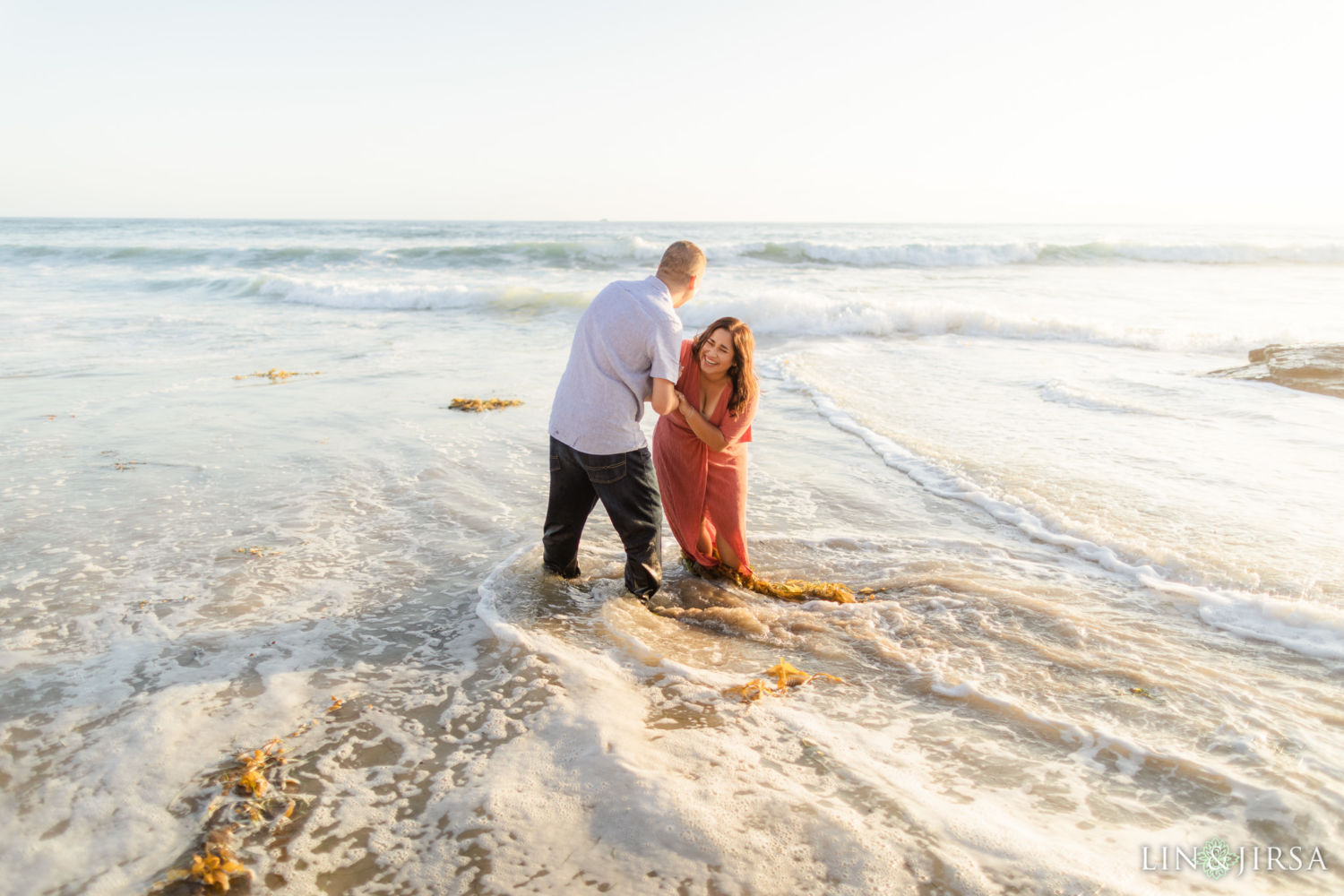 0060 AJ Crystal Cove State Park Orange County Engagement Photography
