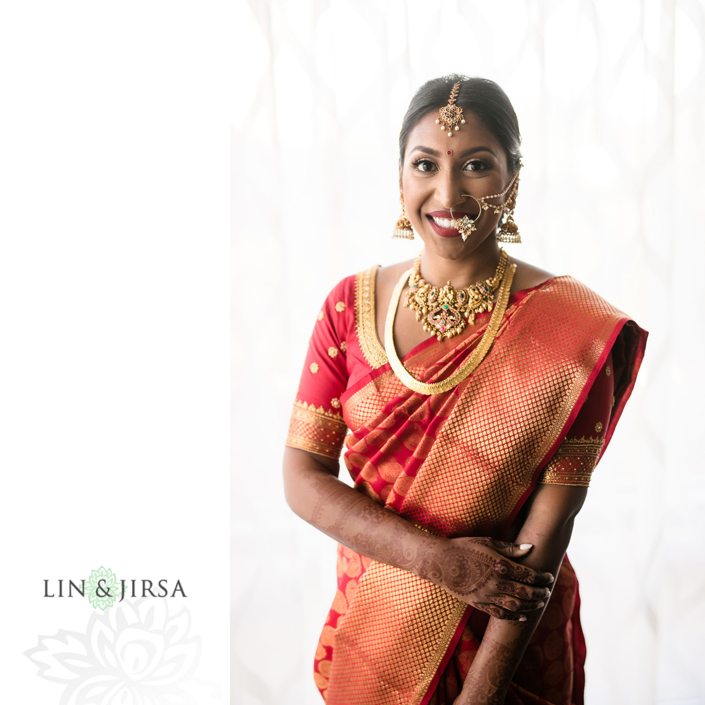 Bride Portraits Four Seasons Westlake Village Indian Wedding