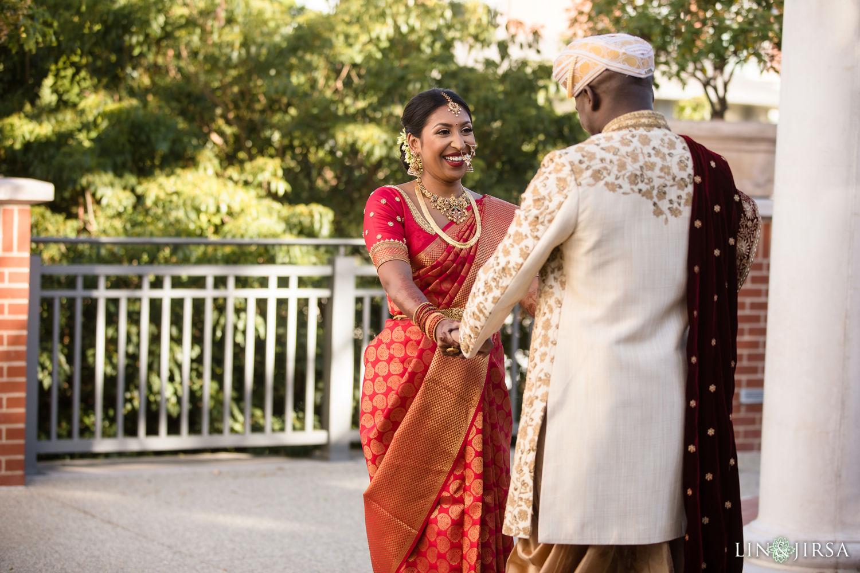 First Look 02 Four Seasons Westlake Village Indian Wedding