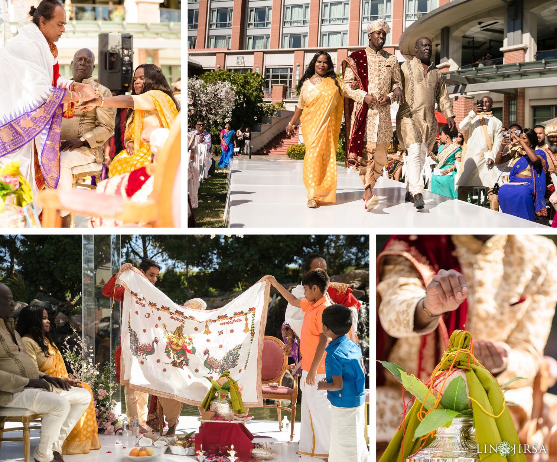 Hindu Ceremony Four Seasons Westlake Village Indian Wedding 02