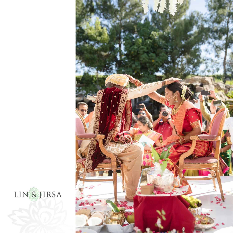 Hindu Ceremony Four Seasons Westlake Village Indian Wedding 04