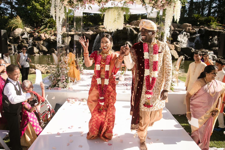 Hindu Ceremony Four Seasons Westlake Village Indian Wedding 06