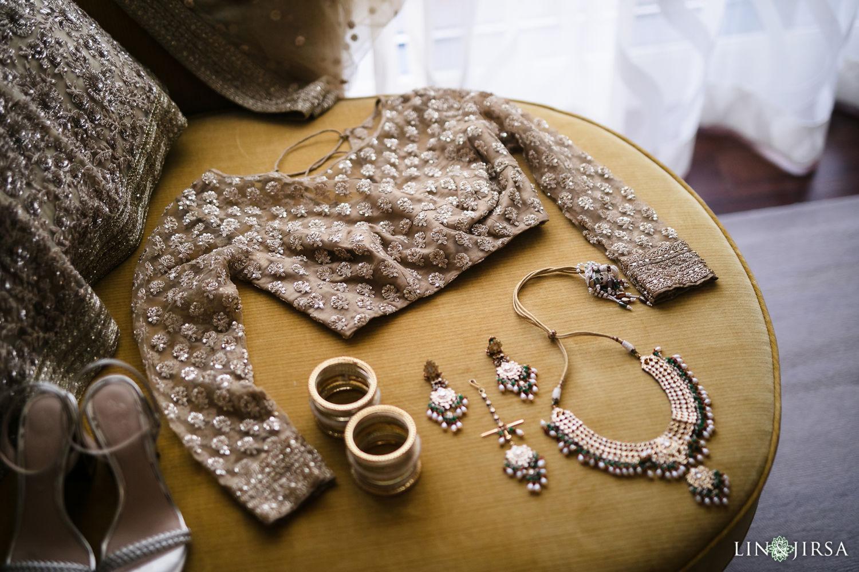 Bride Reception Details Four Seasons Westlake Village Indian Wedding