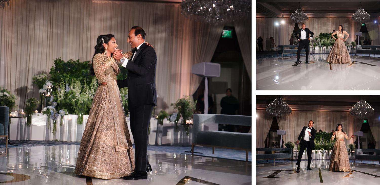 Father Daughter Dance Four Seasons Westlake Village Indian Wedding