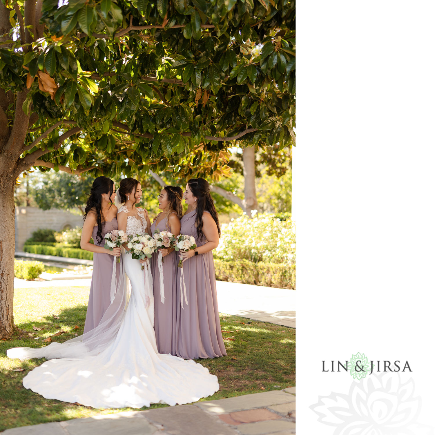 Bridesmaids Couple Session 04 Greystone Mansion Wedding Beverly Hills