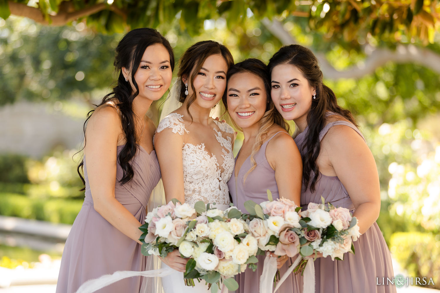 bridesmaids 02Greystone Mansion Wedding Beverly Hills