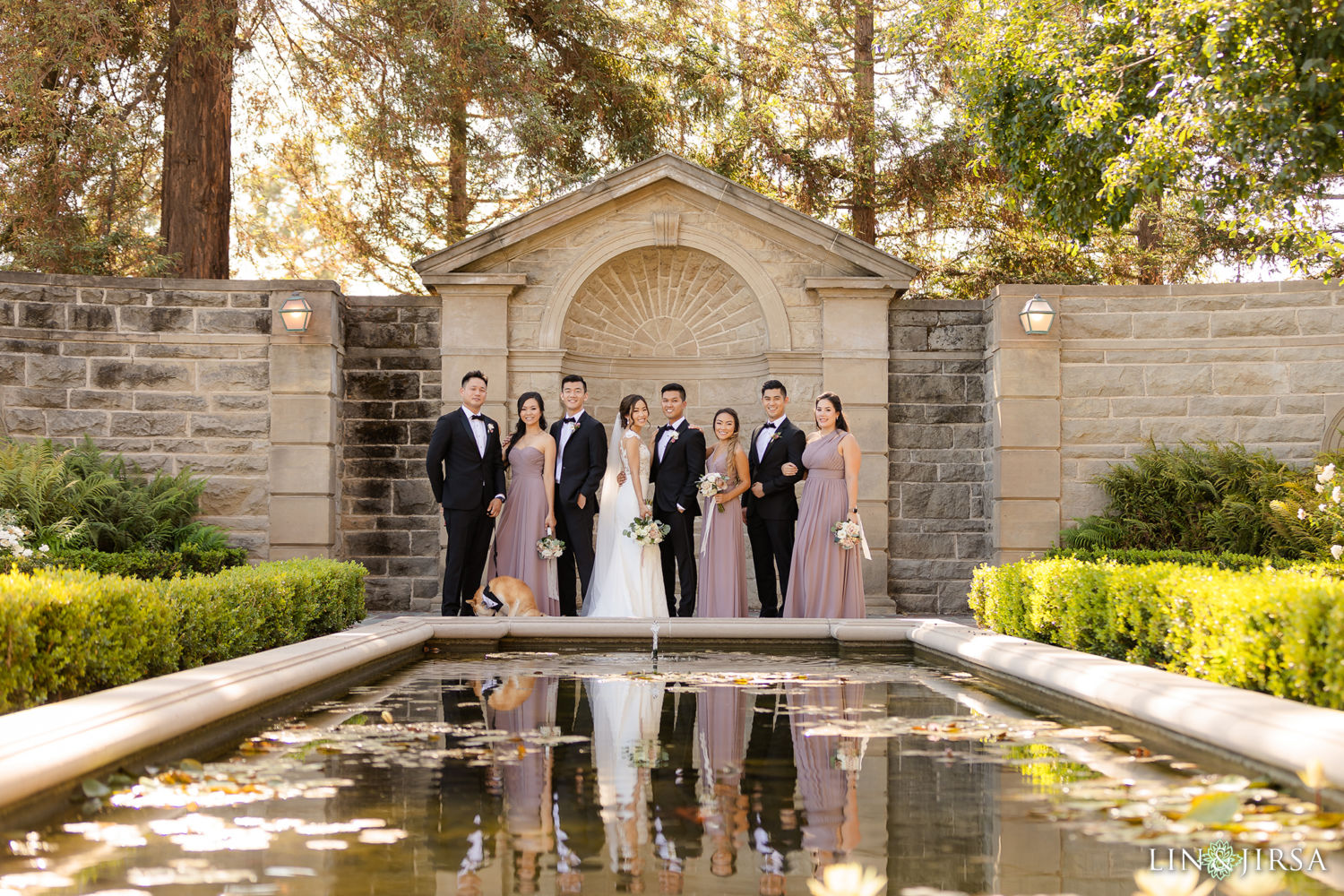 Wedding Party Greystone Mansion Wedding Beverly Hills
