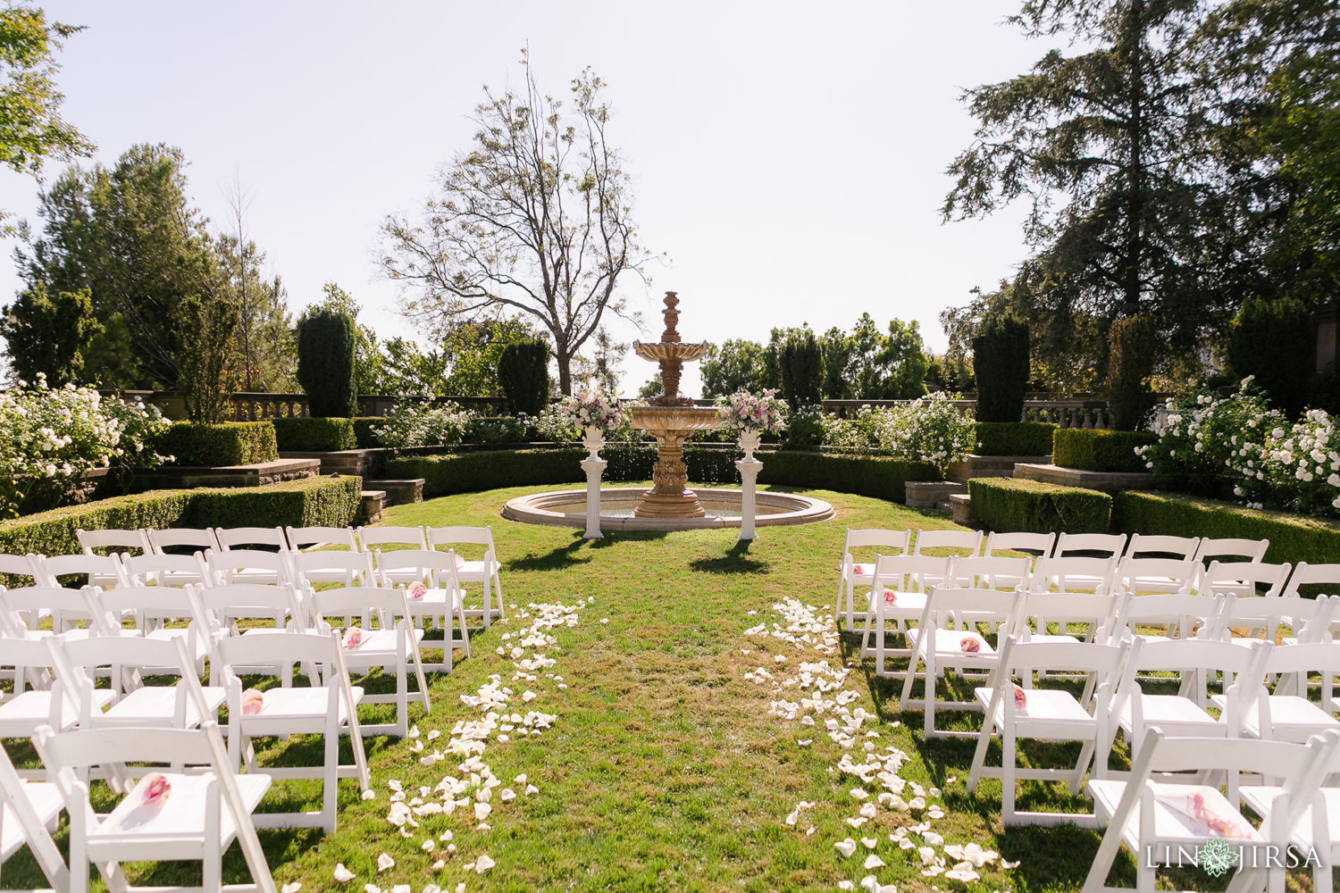 Ceremony Site Greystone Mansion Wedding Beverly Hills