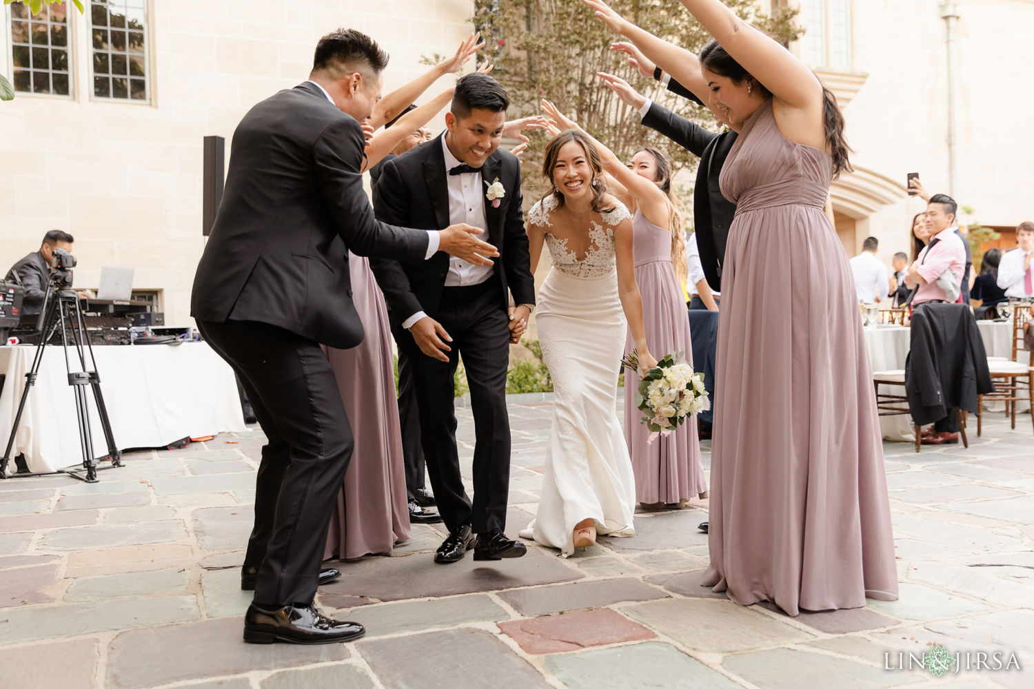 Grand Entrance Greystone Mansion Wedding Beverly Hills Reception