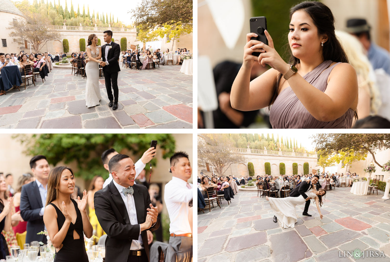 First Dance Greystone Mansion Wedding Beverly Hills Reception