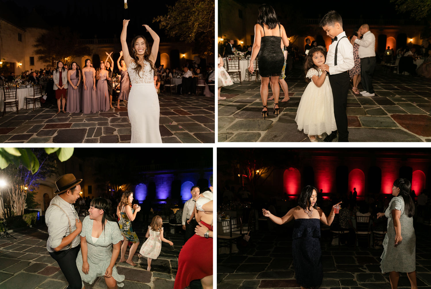 Greystone Mansion Wedding Beverly Hills Reception