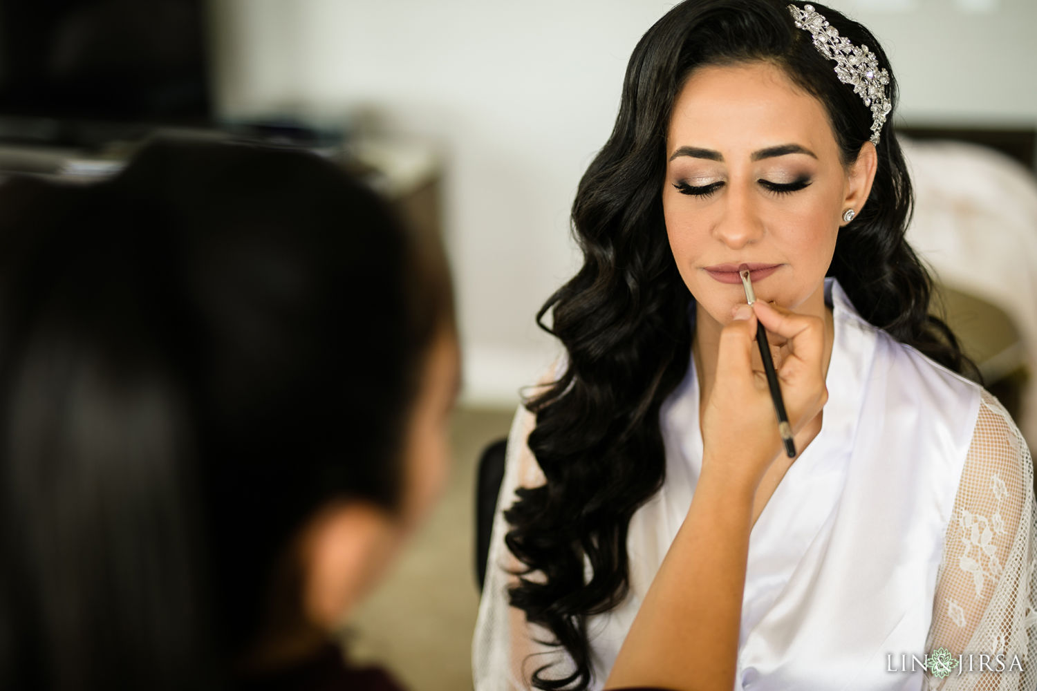 Bride Prep St Mark Coptic Orthodox Church Wedding