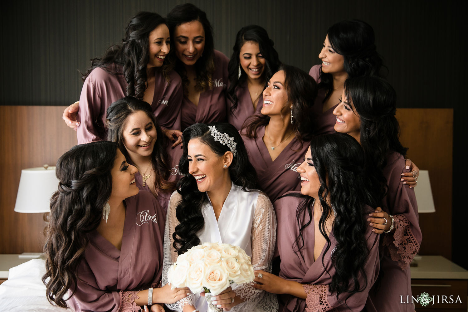 Bridesmaids St Mark Coptic Orthodox Church Wedding