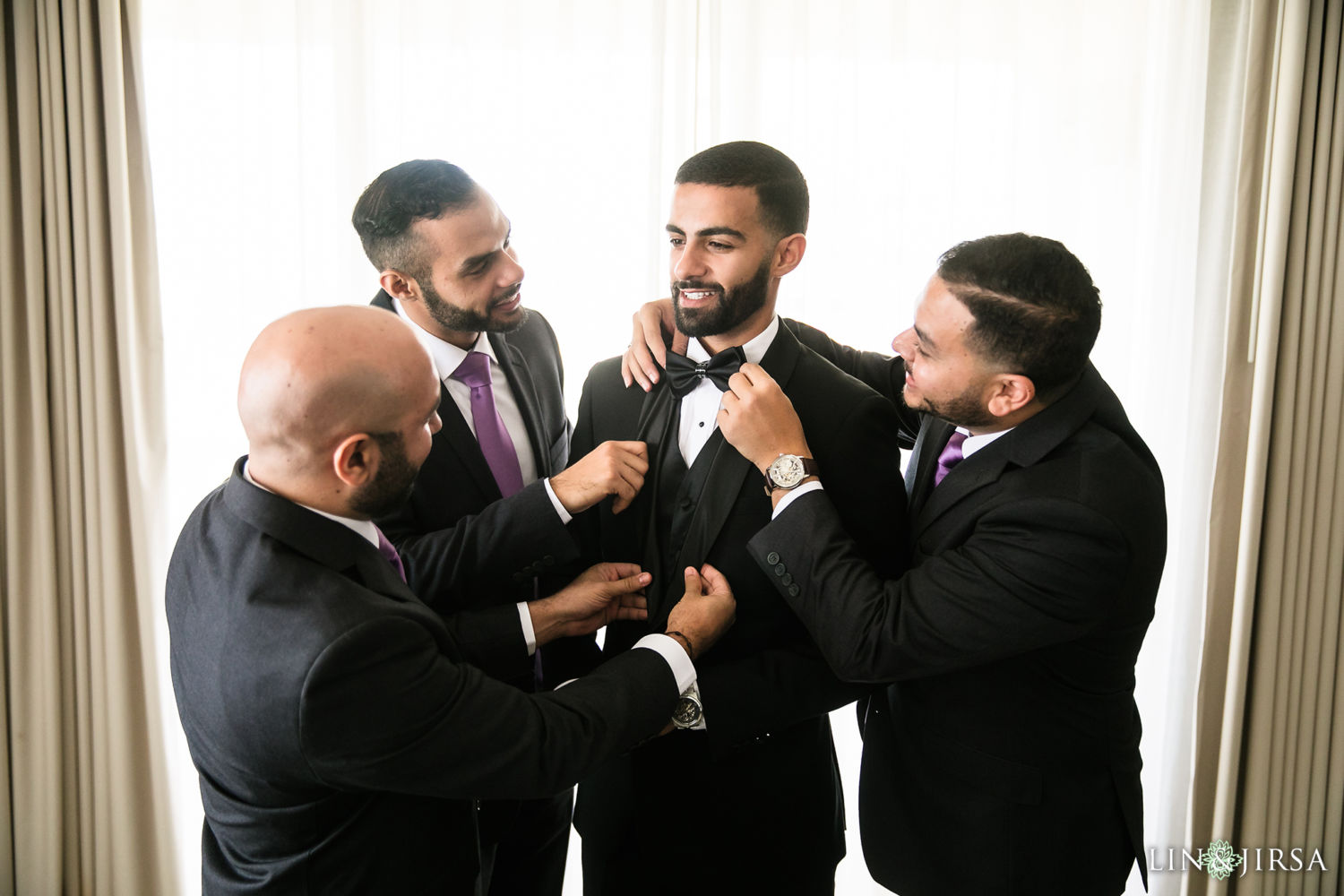 Groom prep 02 St Mark Coptic Orthodox Church Wedding