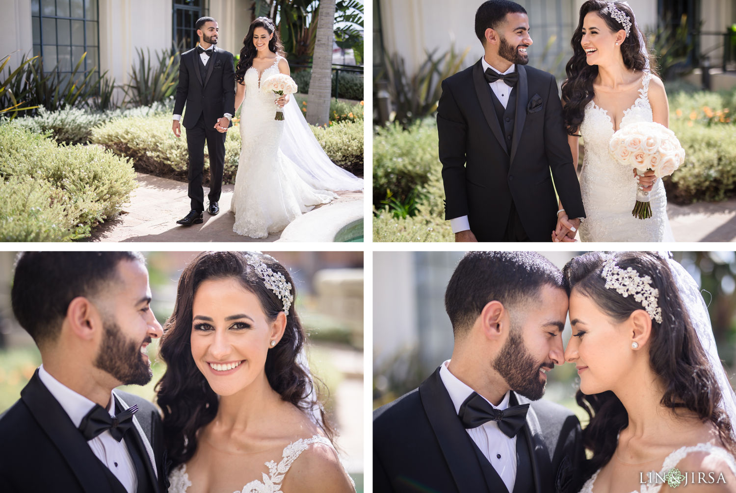First Look 04 Beverly Hills Courthouse St Mark Coptic Orthodox Church Wedding