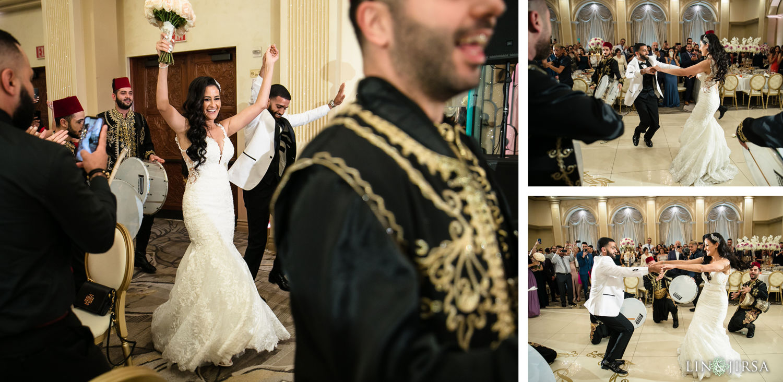 Grand Entrance St Mark Coptic Orthodox Church Renaissance Banquet Reception
