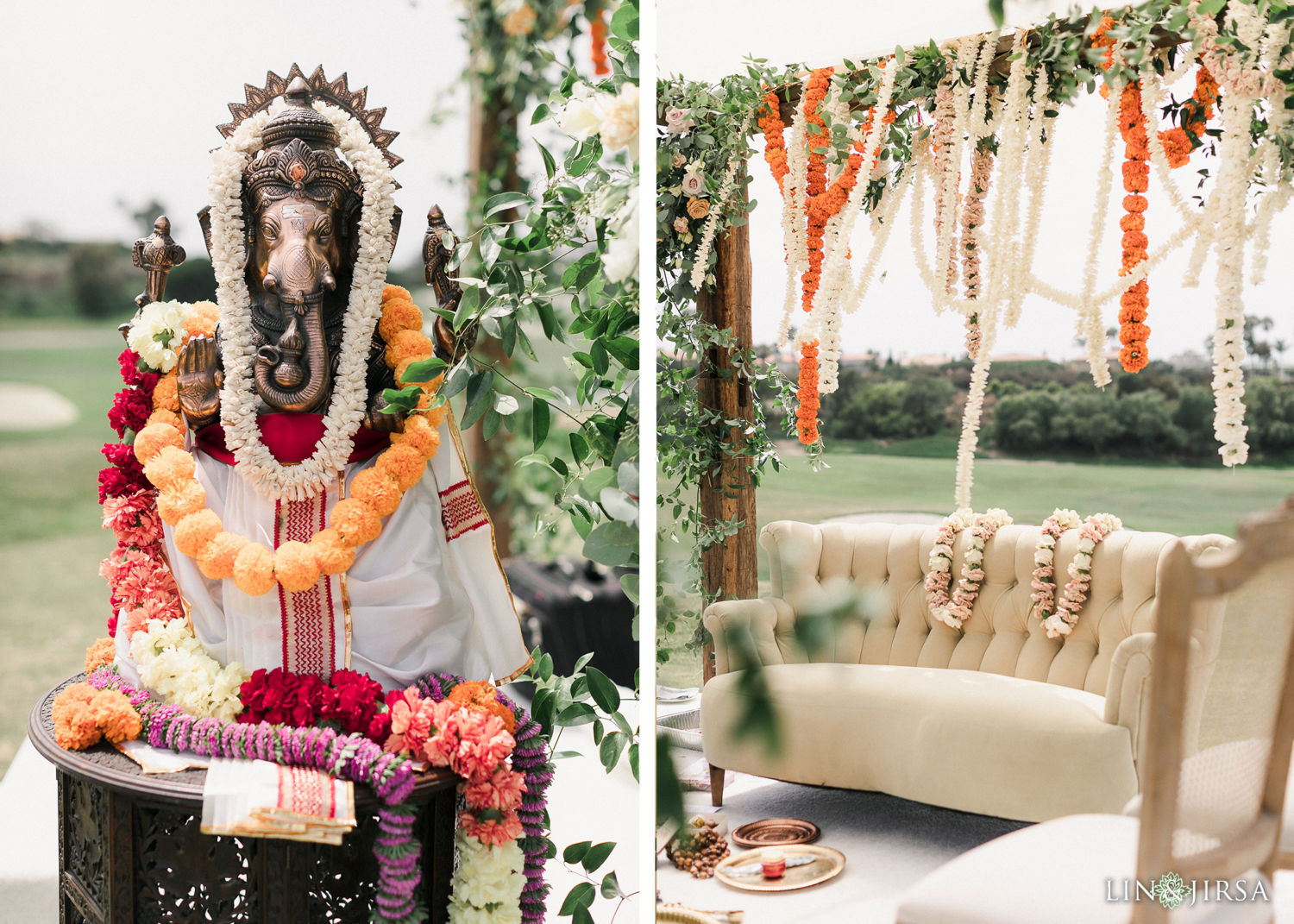 Ceremony Details Monarch Beach Resort Filmic Indian Wedding Ceremony