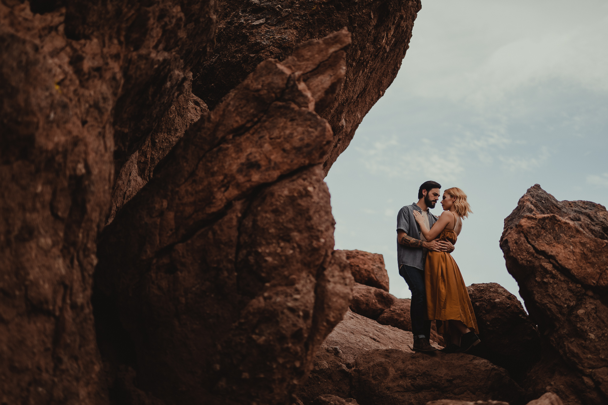 04 papago park arizona engagement photography