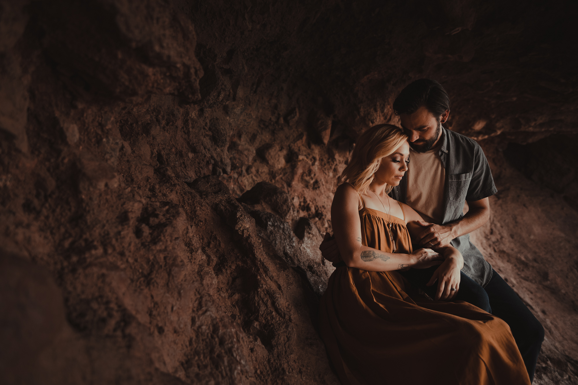 05 papago park arizona engagement photography