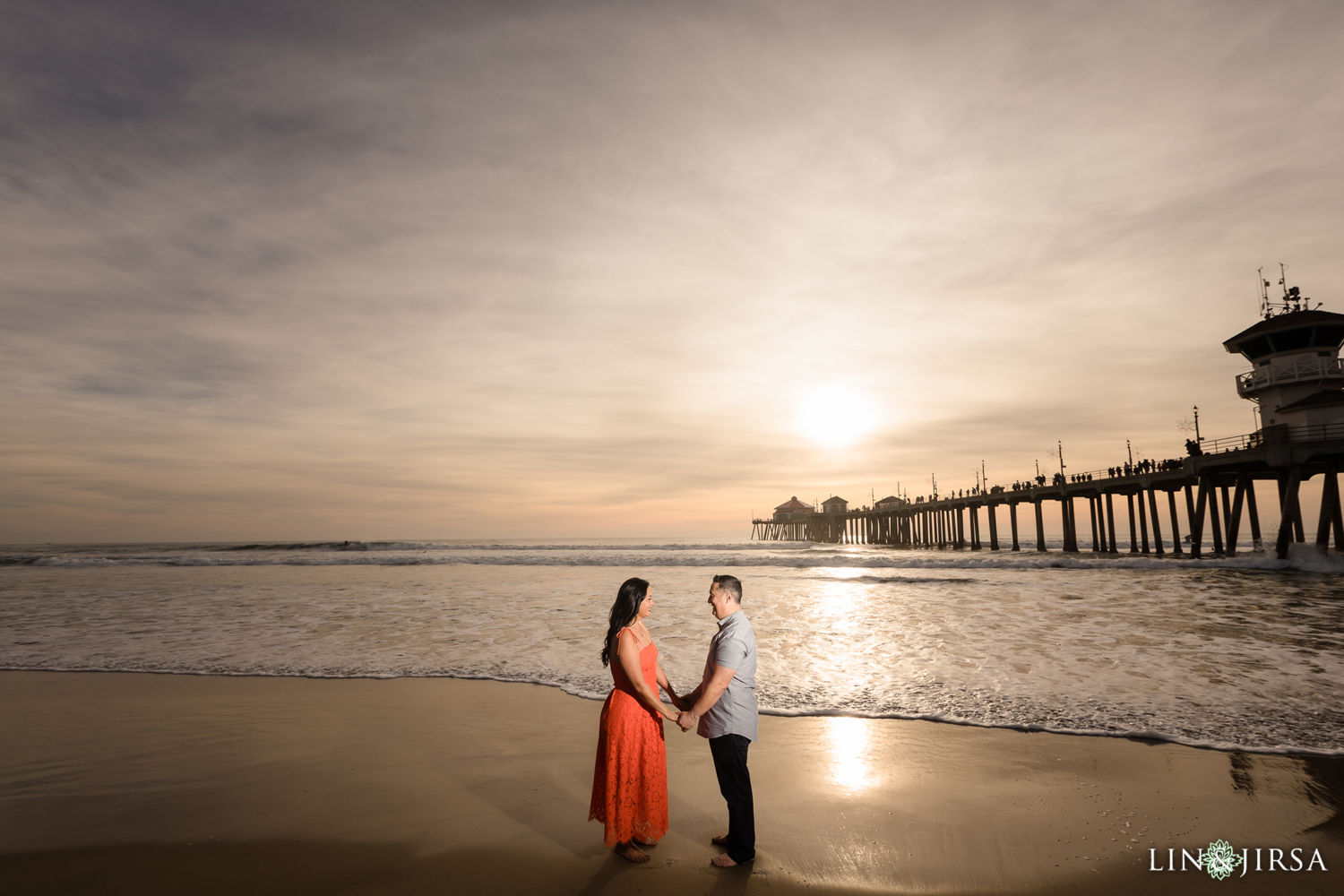 Huntington Beach Pier Engagement Session 03