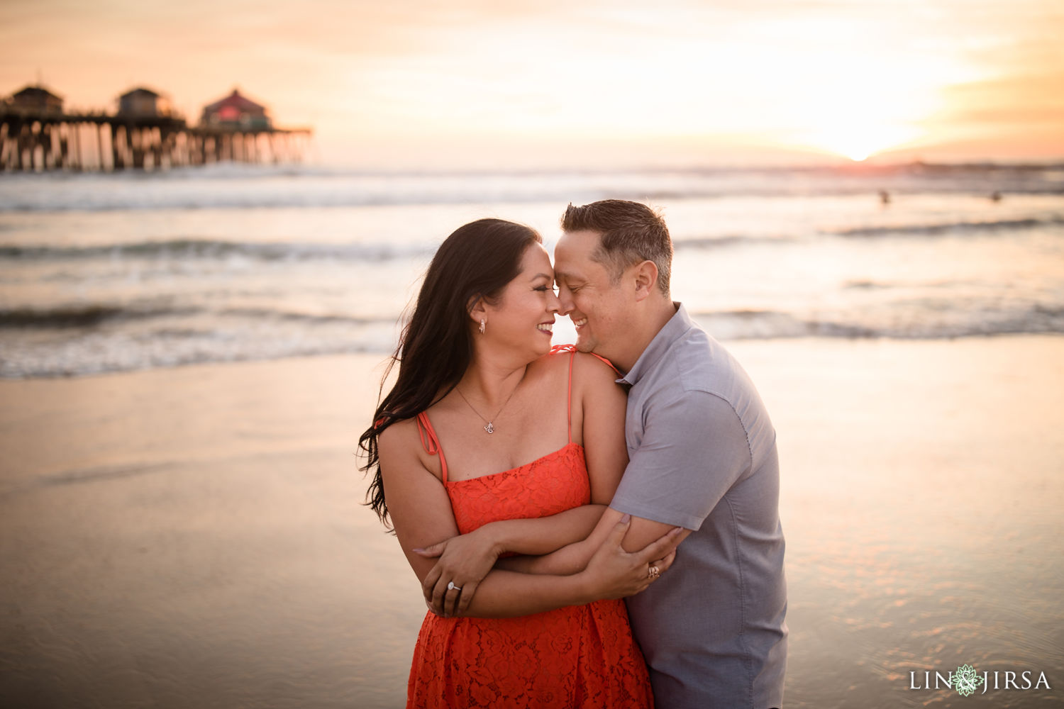 Huntington Beach Pier Engagement Session 04