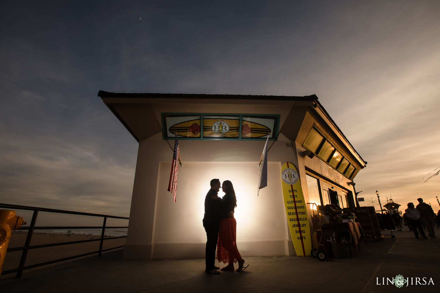 Huntington Beach Pier Engagement Session 06