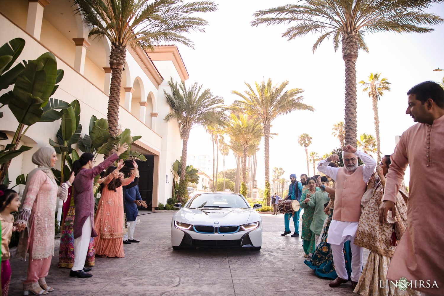 Baraat Hyatt Huntington Beach Micro Wedding
