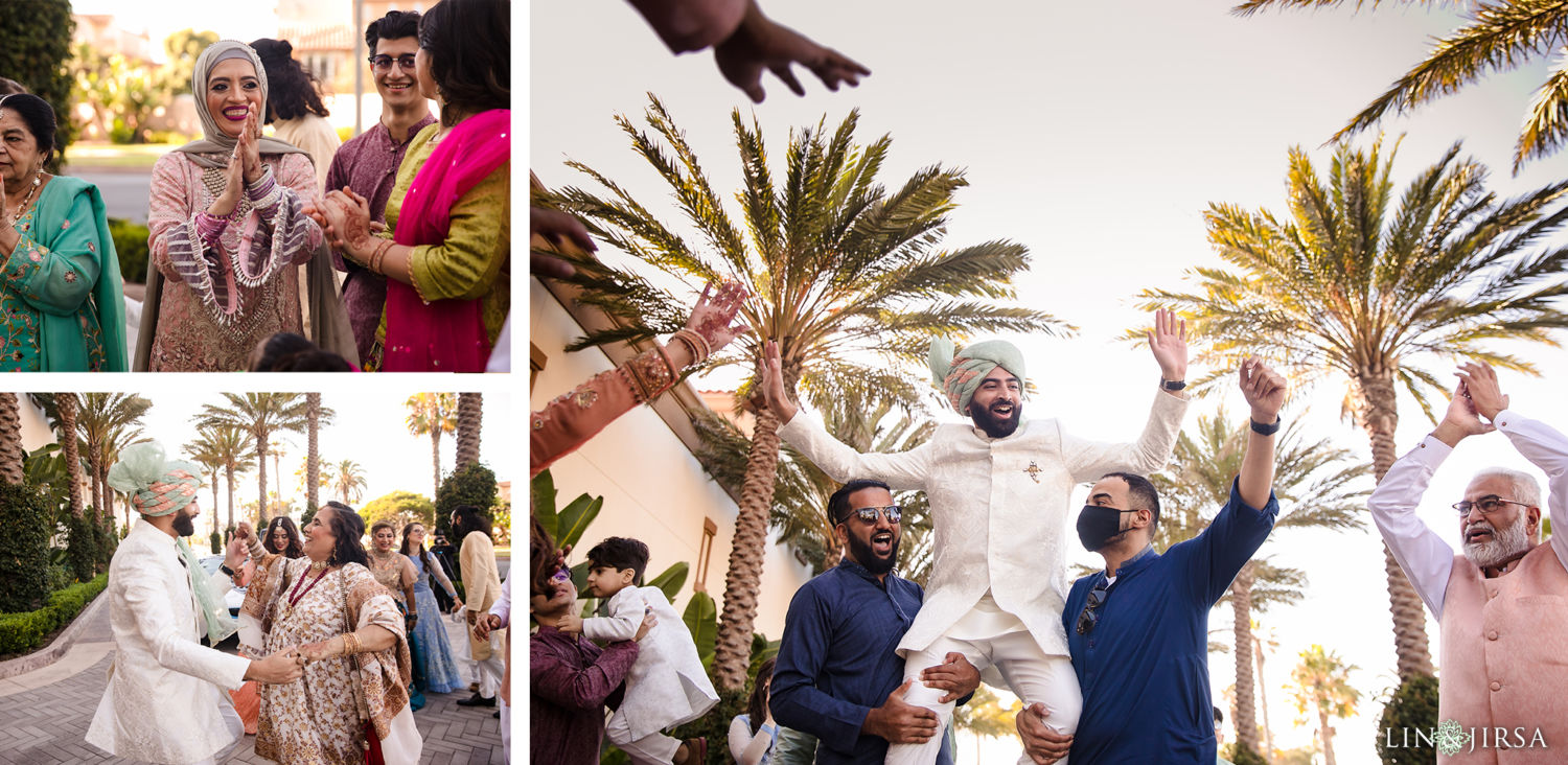 Baraat Hyatt Huntington Beach Micro Wedding 02