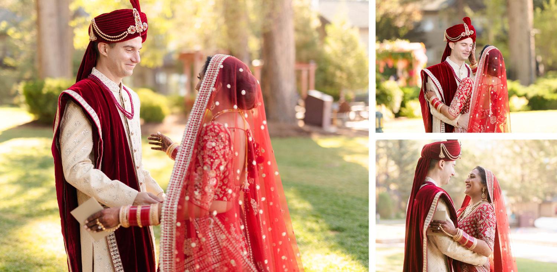 First Look 03 Hyatt Regency Lake Tahoe Resort Fusion Wedding