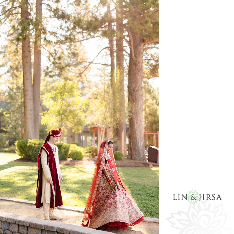 First Look 04 Hyatt Regency Lake Tahoe Resort Fusion Wedding
