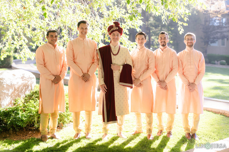 Groomsmen Hyatt Regency Lake Tahoe Resort Fusion Wedding