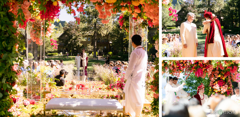Wedding Ceremony 01 Hyatt Regency Lake Tahoe Resort Fusion Wedding