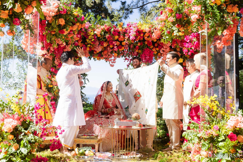 Wedding Ceremony 02 Hyatt Regency Lake Tahoe Resort Fusion Wedding
