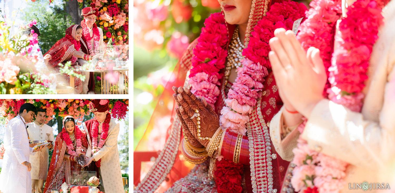 Hindu Wedding Ceremony Hyatt Regency Lake Tahoe Resort Fusion Wedding